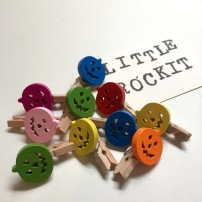 Pumpkin Mini Pegs