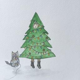 Little Rockit Tree Cat