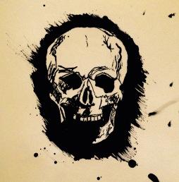 Little Rockit Ink Skull