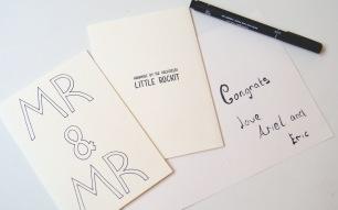Mr & Mr Card £1.50