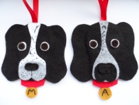 Custom Felt Dog Danglies